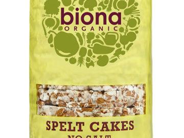 Biona Wholegrain Spelt Cakes No Salt Organic