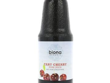 Biona Tart Cherry Pure Juice Organic 1L