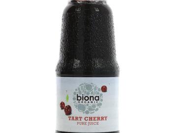 Biona Tart Cherry Pure Juice 200ml Organic
