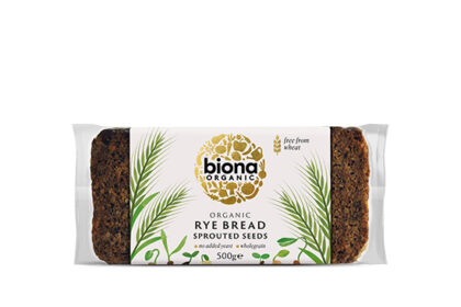 Biona Vitality Rye Bread With Sprouted Seeds Organic