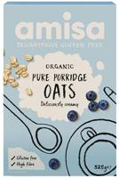 Amisa Porridge Oats Gluten Free Organic
