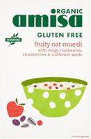 Amisa Gluten Free Fruity Oat Muesli Organic