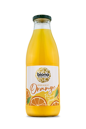 Biona Pressed Orange Juice Organic