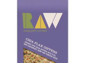 Raw Health Raw-Tilla Chia Flax Dippers Organic