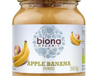Biona Apple Banana Purée Organic