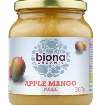Biona Apple Mango Purée Organic