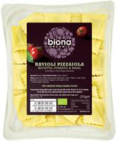 Biona Ravioli Pizzaiola With Ricotta Tomato & Basil Organic