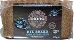 Biona Rye Bread with Chia & Flax Seed Organic