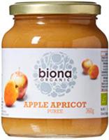 Biona Apple & Apricot Purée Organic
