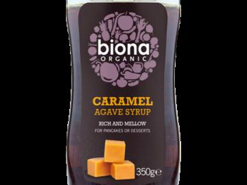 Biona Caramel Agave Syrup Organic