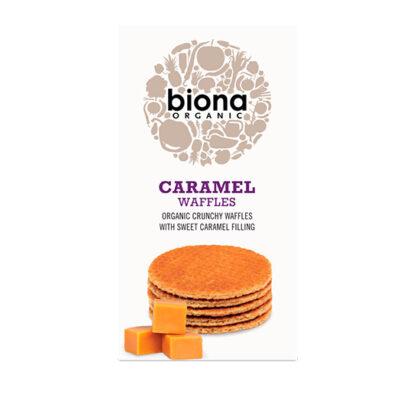 Biona Caramel Waffles Organic