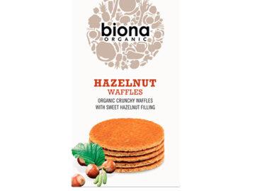 Biona Hazelnut Waffles Organic