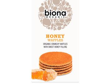 Biona Honey Waffles Organic