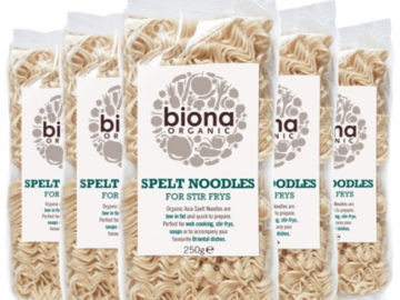 Biona Spelt Noodles Organic