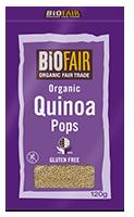 Biofair Quinoa Pops G/F Organic
