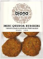 Biona Quinoa Mini Burgers Organic