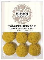 Biona Falafel Balls Spinach & Houmous Organic