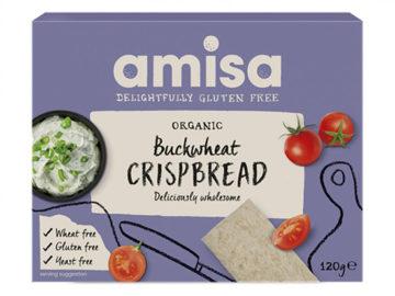 Amisa Buckwheat Crispbread Gluten Free Organic