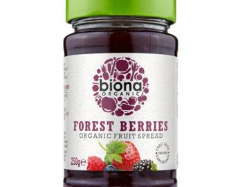 Biona Forest Berries Fruit Spread Organic