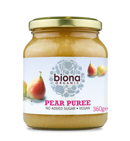 Biona Pear Puree Organic