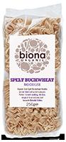 Biona Spelt Buckwheat Noodles Organic