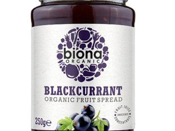 Biona Blackcurrant Fruit Spread Organic
