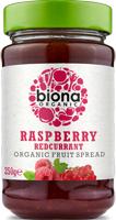 Biona Raspberry Redcurrant Fruit Spread Organic