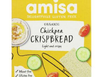 Amisa Chickpea Crispbread Organic