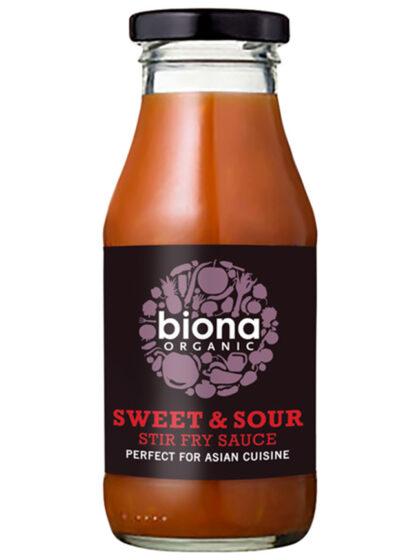 Biona Sweet & Sour Stir Fry Sauce Organic