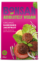 Bonsan Plain Shredded Jackfruit Organic