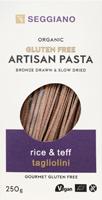 Seggiano Rice & Teff Tagliolini Pasta Organic
