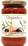 Organico Olive Chilli & Garlic Pasta Sauce