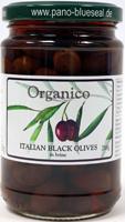 Organico Italian Black Olives In Brine