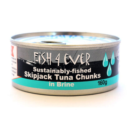 Fish 4 Ever Skipjack Tuna Chunks in Brine