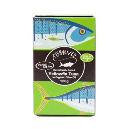 Fish 4 Ever Yellowfin Tuna in Organic Olive Oil