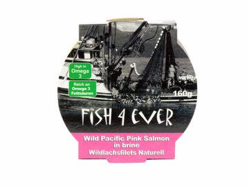 Fish 4 Ever Wild Pacific Pink Salmon (No Skin, No bones)
