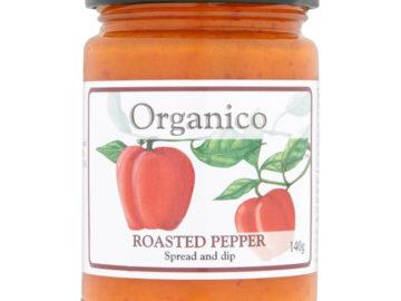 Organico Roasted Pepper Spread & Dip
