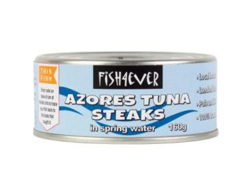 Fish 4 Ever Skipjack Tuna Steaks In Spring Water