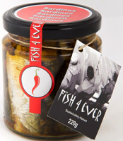 Fish 4 Ever Chilli Hot Sardine Sundried Tomatoes & Olives