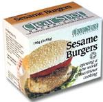 Clear Spot Organic Sesame Burgers