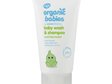 Organic Babies Baby Wash & Shampoo Fragrance Free