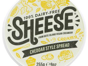 Bute Island Cheddar Style Creamy Sheese 100% Dairy Free