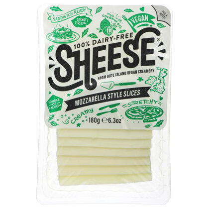 Bute Island Sheese Dairy Free Mozarella Style Slices