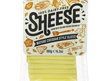 Bute Island Dairy Free Mature Cheddar Style Sheese Slices