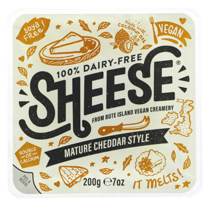 Bute Island Sheese Mature Cheddar Style Block