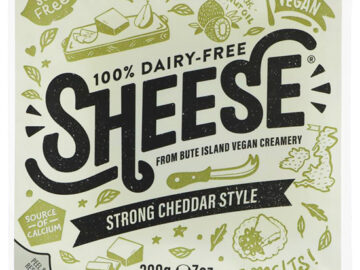 Bute Island Strong Cheddar Style Dairy Free Sheese