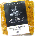 Authentic Bread Co. Apricot & Coconut Flapjack Organic