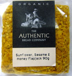 Authentic Bread Co. Sunflower Sesame & Honey Flapjack Organic