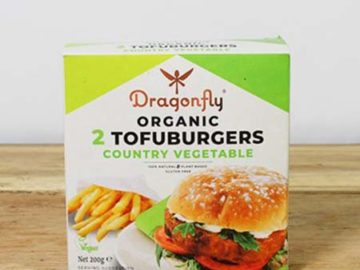 Dragonfly Country Vegetable TofuBurger Organic
