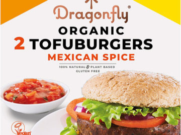 Dragonfly Mexican Spice Tofuburgers Organic